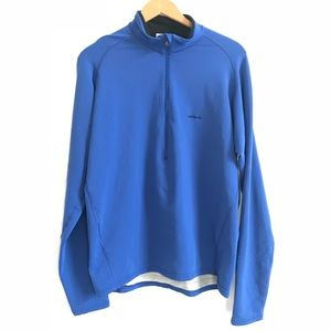 Patagonia | blue half zip pullover sweater jacket